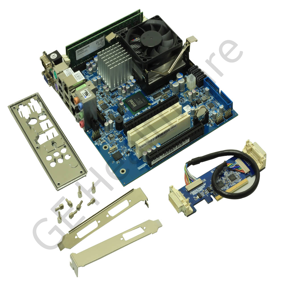 Assembly - Mother Board Flex with CPU with 2GB SDRAM 2 DVI