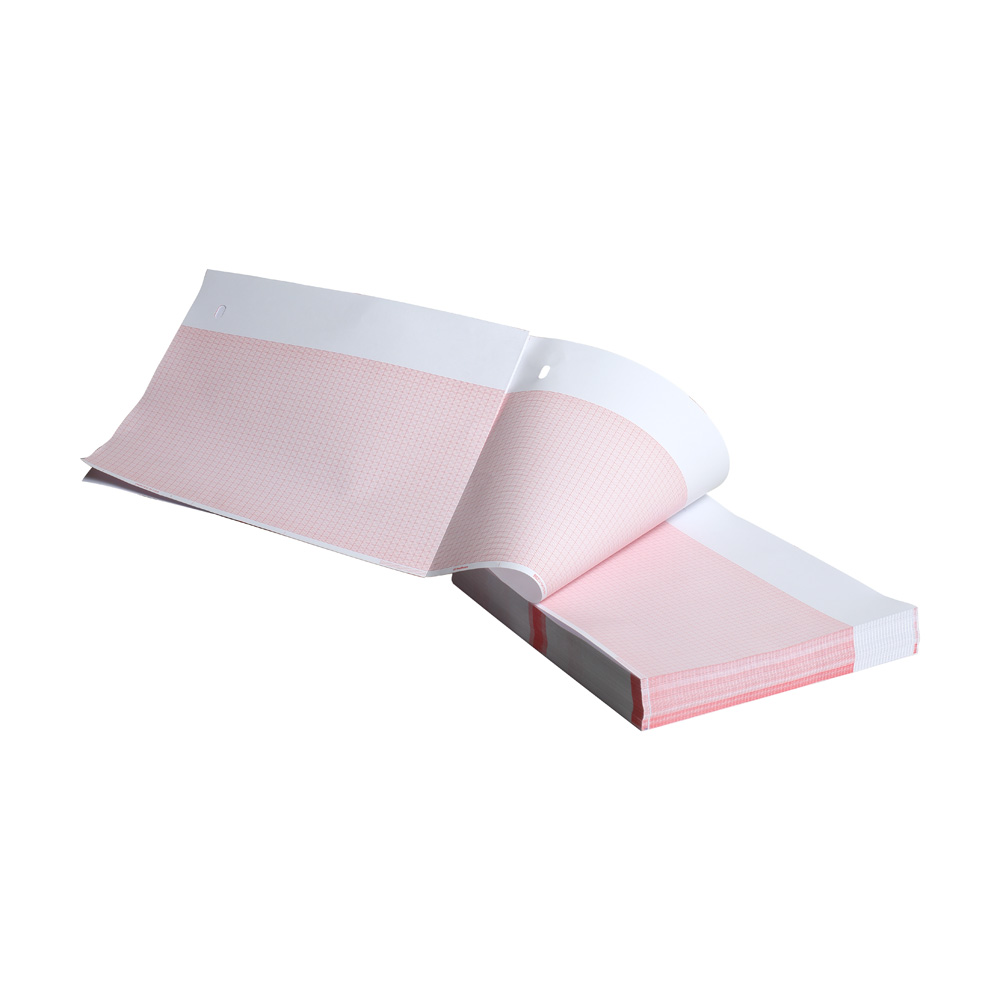 Paper A Red Grid 155mm Wide Z-Fold Hole 150 Sheet 16/Pk
