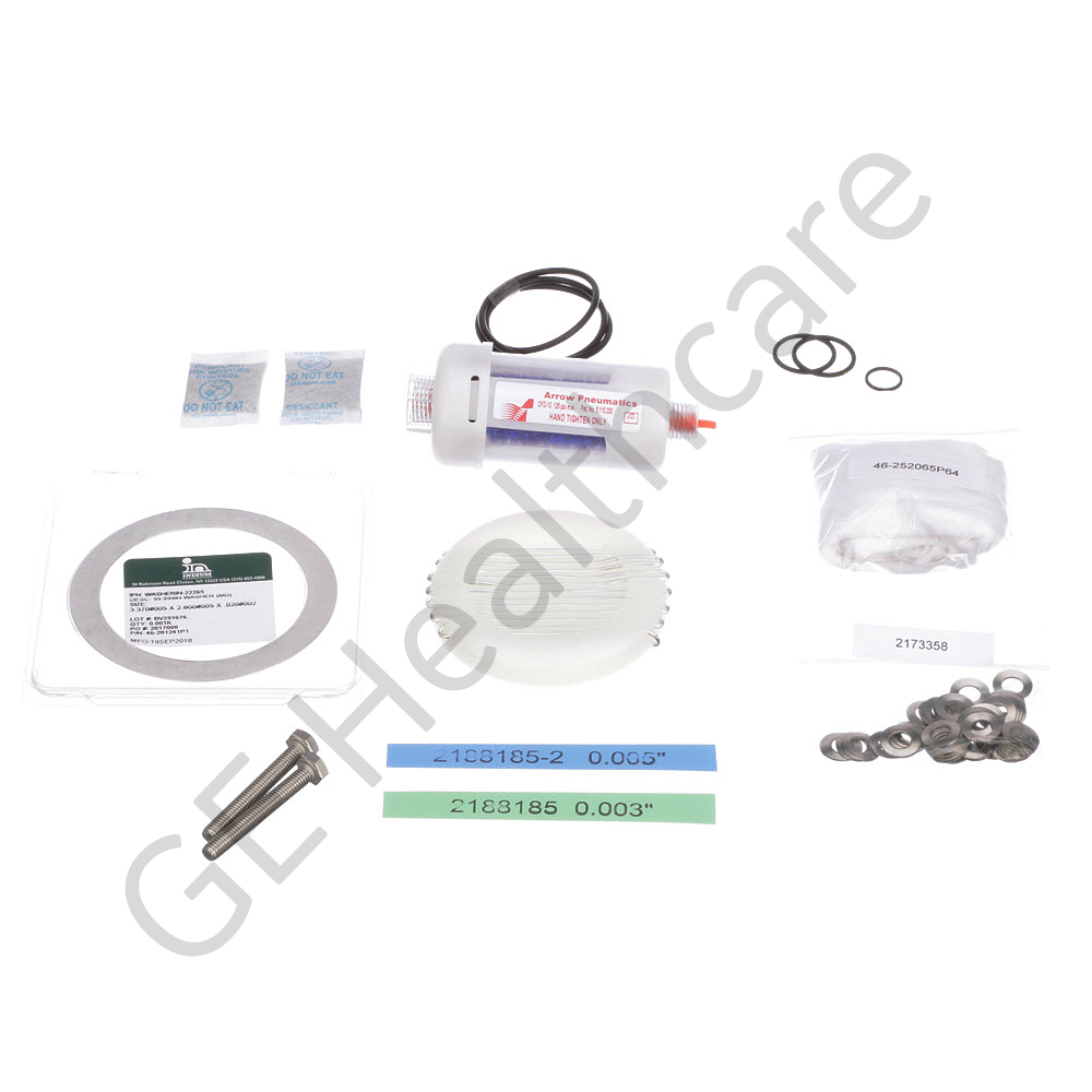 KIT, CRYOCOOLER REPLACEMENT GASKETS