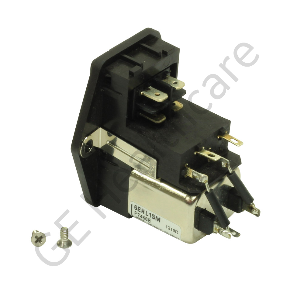 Power Inlet Module with Hardware